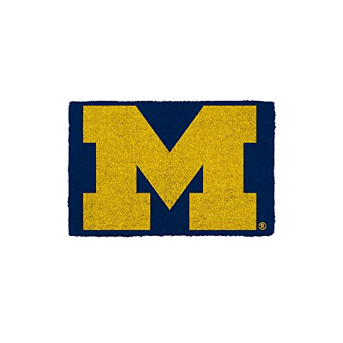 Game Day Outfitters NCAA Michigan Wolverines University of Michigan Doormatuniversity of Michigan Doormat, Varied, One Size