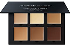 The art of applying makeup requires knowing more than just the basics. With the Aesthetica Cream Contour Kit, we provide you with the tools you need to expertly accentuate your natural beauty while downplaying problem areas.The Aesthetica Cre...