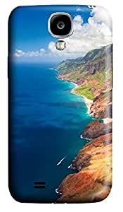 Samsung S4 Case Blue Hawaii Beach 3D Custom Samsung S4 Case Cover