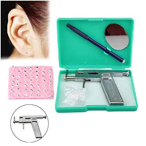 New Professional Steel Ear Nose Navel Body Piercing Gun 98pcs Studs Tool Kit Set by Toptree (Image #3)
