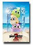 Angry Birds 2 Poster Movie Promo 11 x 17 inches Three in Ice Cube