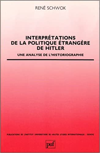 Amazon Fr Interpretations De La Politique Etrangere De