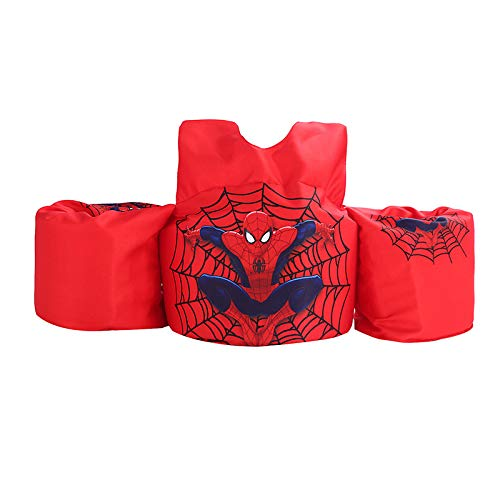 JKSPORTS 2019 Baby Floats for Pool,Kids Life Jacket from 30 to 50lbs, Compatible 20-30 Pounds Infant/Baby/Toddler, Kids Life Jacket   Life Vest for Children (Red Spiderman) ()
