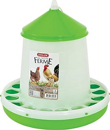 Zolux Mangeoire Basse Cour Plastique Silo pour Élevage/Agriculture Urbaine 2 kg 175622