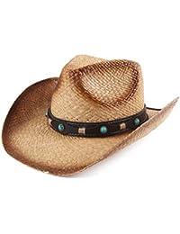 348cc0bd04f39 Adult Sun Straw Western Cowboy Hat