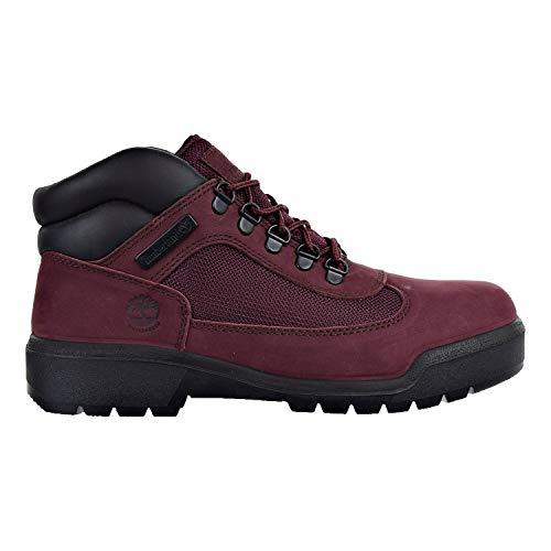 (Timerland Men's Waterproof Field Boots Burgundy tb0a1a2u (10.5 D(M) US))
