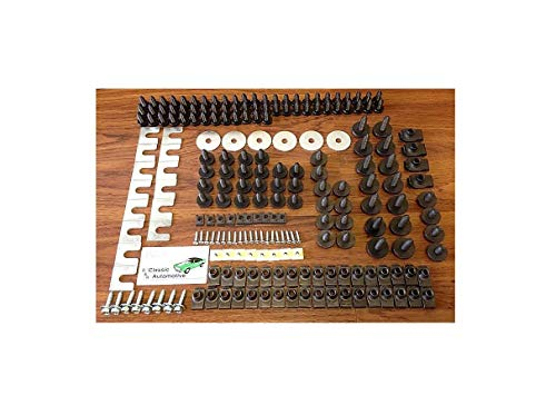 Reliable Front End Sheet Metal Hardware Repair Kit for Chevrolet GMC Buick Pontiac Quick Delivery