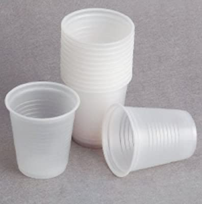 Settings 3oz Plastic Disposable Clear Cups Cups