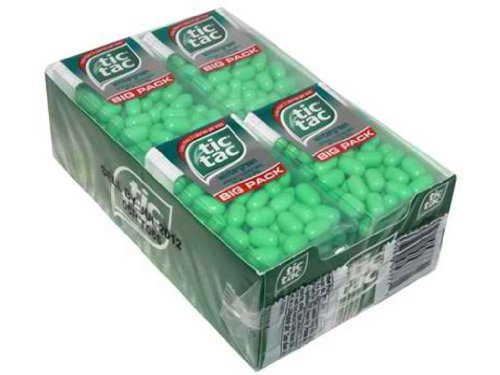 Tic Tac Big Pack Wintergreen (Value Pack of 12)
