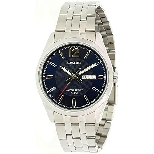 Casio Classic Silver Watch MTP1335D-2A