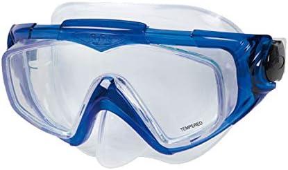 DRIM DISCOUNT Gafas para Bucear Azules de Silicona: Amazon.es ...