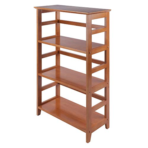 Winsome Wood Studio Shelving, Honey (26 Bookcase Wide)
