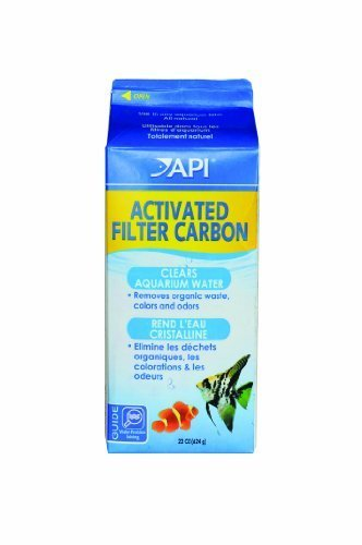 API Activated Filter Carbon, Half Gallon Carton, Net Weight 22-Ounce by Aquarium Pharmaceuticals
