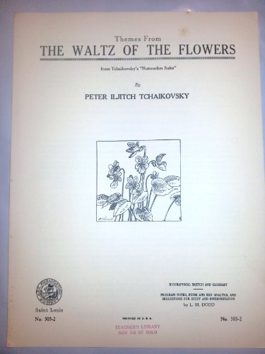 The Waltz of the Flowers Vintage Piano Sheet Music ()