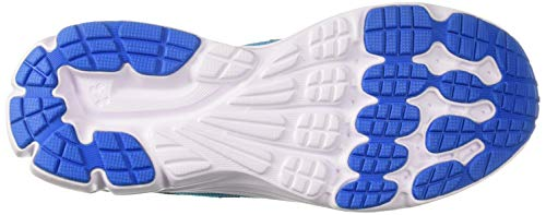 Under Armour Girls' Grade School Rave 2 Sneaker Alpine (301)/Blue Circuit 3.5 by Under Armour (Image #3)