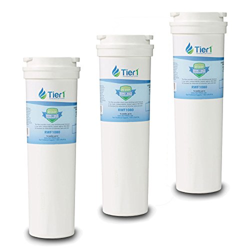3 Pack Tier1 Fisher & Paykel 836848, 836860 Replacement Refrigerator Water Filter