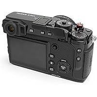 Fujifilm X-Pro2 (also fits X-Pro1) Folding Thumb Grip by LENSMATE - Black