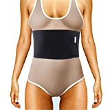 Everyday Medical Broken Rib Brace for Men and Women - Bamboo Charcoal Rib Support Compression Brace - accelerates The Healing of Cracked, Dislocated, Fractured and Post-Surgery Ribs - XLarge