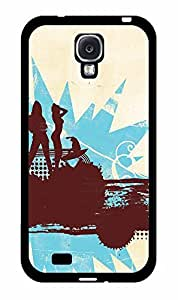 Hippie Surfer TPU RUBBER SILICONE Phone Case Back Cover Samsung Galaxy S4 I9500 by lolosakes
