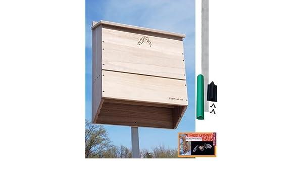 Bestnest Five Celled Bat House Kit With Pole 500 Bats