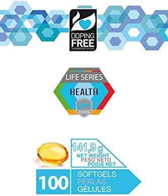 OMEGA R3 100 Perlas - Ácidos Grasos Esenciales Omega 3 y Vitamina ...