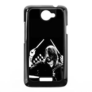 HTC One X Cell Phone Case Black Dave Grohl On Drums Zwbhe