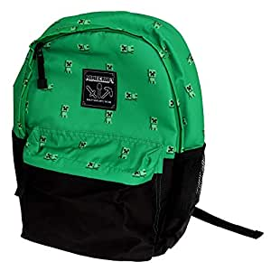 Minecraft Official Childrens/Kids Creeper Swarm Backpack (UK Size: One Size) (Green)