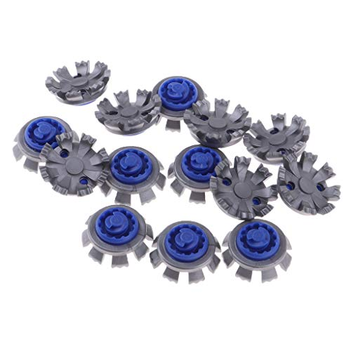 (DYNWAVE Spike Golf Cleats Shoes Spikes Stinger Rubber Screw Studs Golf Spikes, Replacement Fast Twist Golf Spikes Set)