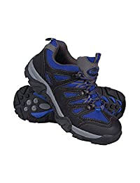 Mountain Warehouse Cannonball Kids Walking Shoes –Durable Hiking Shoes
