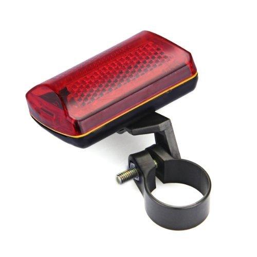 dcolor phare lampe feu arriere 5 leds rouge pour velo bicyclette tout pour le sport. Black Bedroom Furniture Sets. Home Design Ideas