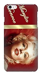 hot sale SUPER HARD plastic case design fit for iphone6 plus(Marilyn Monroe)by kelly reese 2014