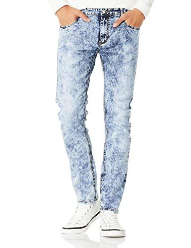 - Demon&Hunter 808 Series Men's Skinny Slim Jeans DH8038(36)