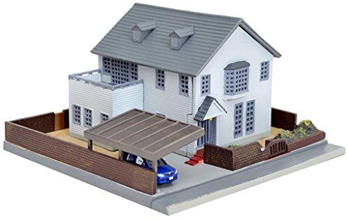 Tomytec diorama collection building collection 015-2 modern house E2 diorama supplies