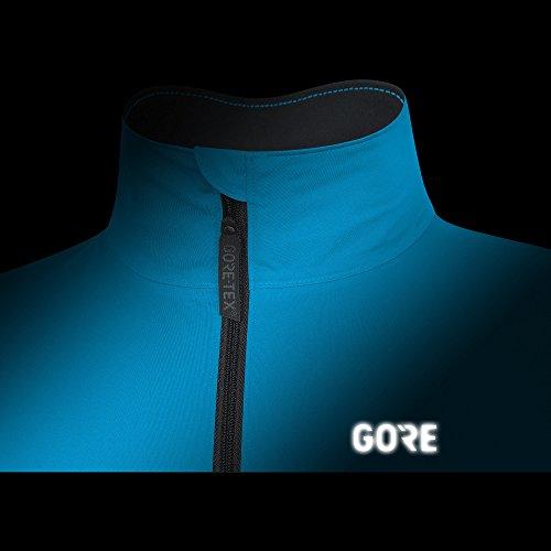 Dynamic Gore Impermeable Gore Azul Hombre para 100193 Cyan Jacket Tex Gore Chaqueta Ciclismo Negro C5 Active Wear YctqYrw6