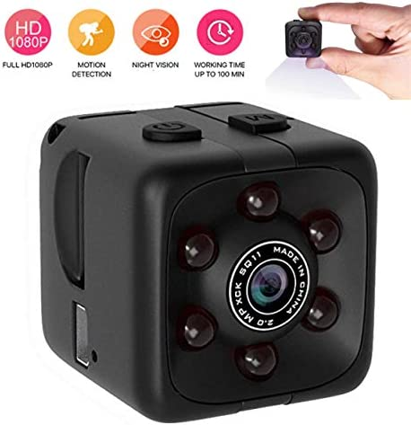 Mini Spy Hidden Camera Wireless Portable Small HD Nanny Cam with HD 1080P, Night Vision, Video Record and Motion Activated, iREMARK Security Hidden Spy Camera Perfect for Home Office Outdoor Use