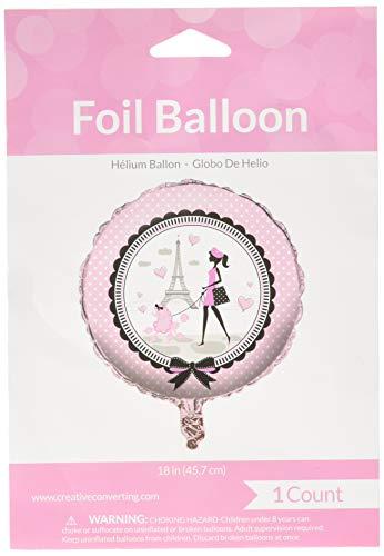 Creative Converting 45584 Paris Party Balloon, Any, Multicolor]()