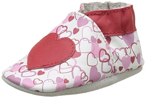 Robeez Valentine - Zapatillas de casa Bebé-Niños Rot (Rouge)