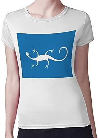 lizard Women T-Shirt by Decalac -19021