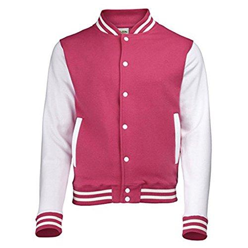 White Awdis Giacca Uomo Hot Pink wqAa4O