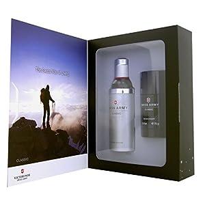 Victorinox Swiss Army Classic Eau de Toilette 3.4 Ounce Gift Set