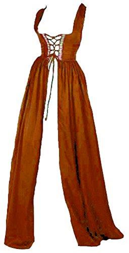 Renaissance Irish Over Dress (2XL/3XL, Copper)