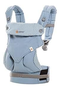 Ergobaby 360 All Carry Positions Award-Winning Ergonomic Baby Carrier, Azure Blue