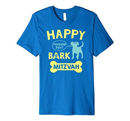- Bark Mitzvah T Shirt | Jewish Dog Lover Bar Mitzvah T-Shirt