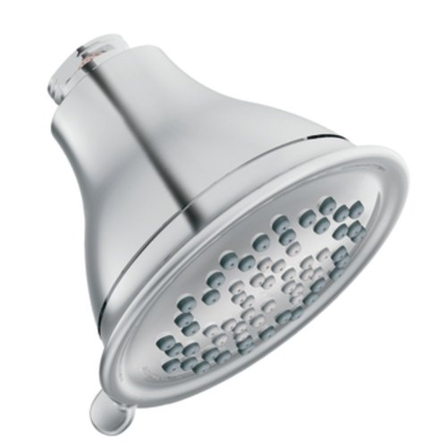 Moen 3233EP Envi Three-Function 4-Inch Diameter Eco-Performance Showerhead, Chrome