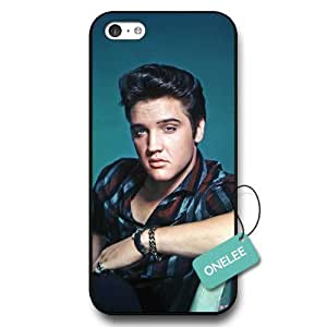 Onelee(TM) - Elvis Presley Black Hard Plastic iPhone 6 plus (5.5) Case & Cover - Elvis Presley iPhone Case - Black 14