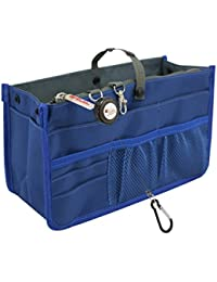 Patented STURDY Handbag Purse Organizer Insert - 21 Components