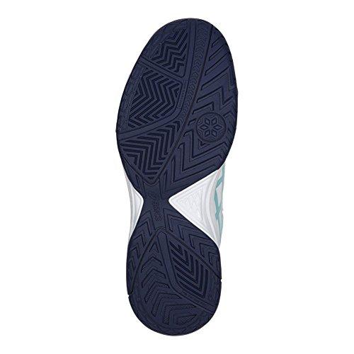 Asics Womens Gel-dedicate 5 Scarpe Da Tennis Bianco / Blu Porcellana / Blu Indaco