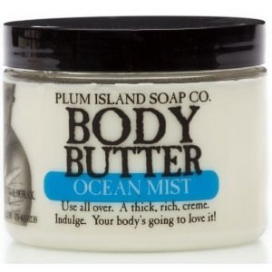 Plum Island Body Butter Ocean Mist made in New England