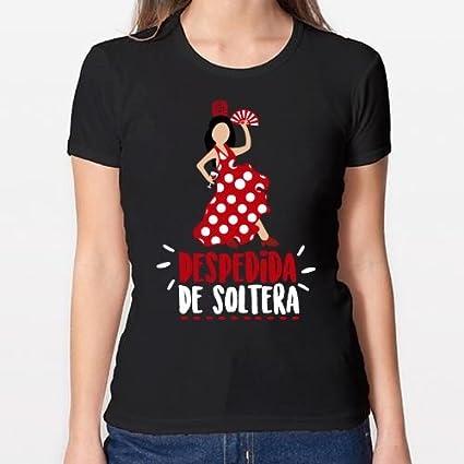 Positivos Camisetas Mujer/Chica - diseño Original Despedida de Soltera - M