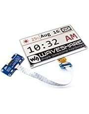 Waveshare 7.5inch E-Paper Display HAT (B) Module 800x480 Resolution 3.3v E-Ink Electronic Screen SPI Interface Red Black White Three-Color for Raspberry Pi Jetson Nano